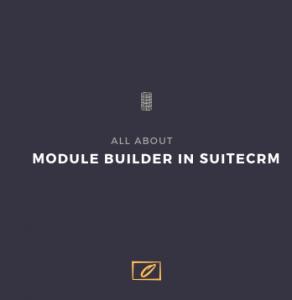 Banner image SuiteCRM Module builder