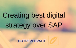SAP Digital Strategy