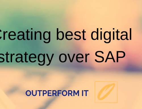 Creating Best Digital experience over SAP