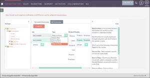 Screenshot of Module Relationships in SuiteCRM