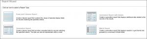 Screenshot of report wizard in SugarCRM 9.0